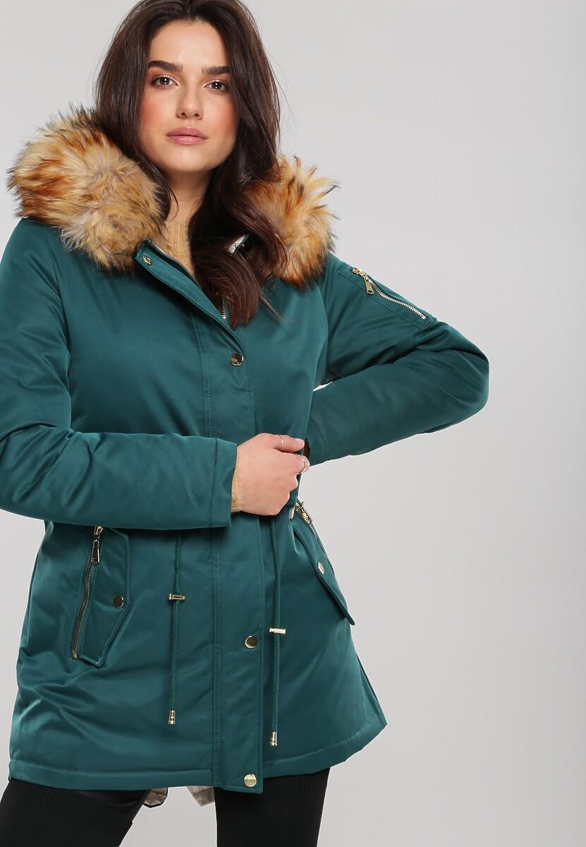Zielona Dwustronna Kurtka Maplewood Kod produktu: 107454