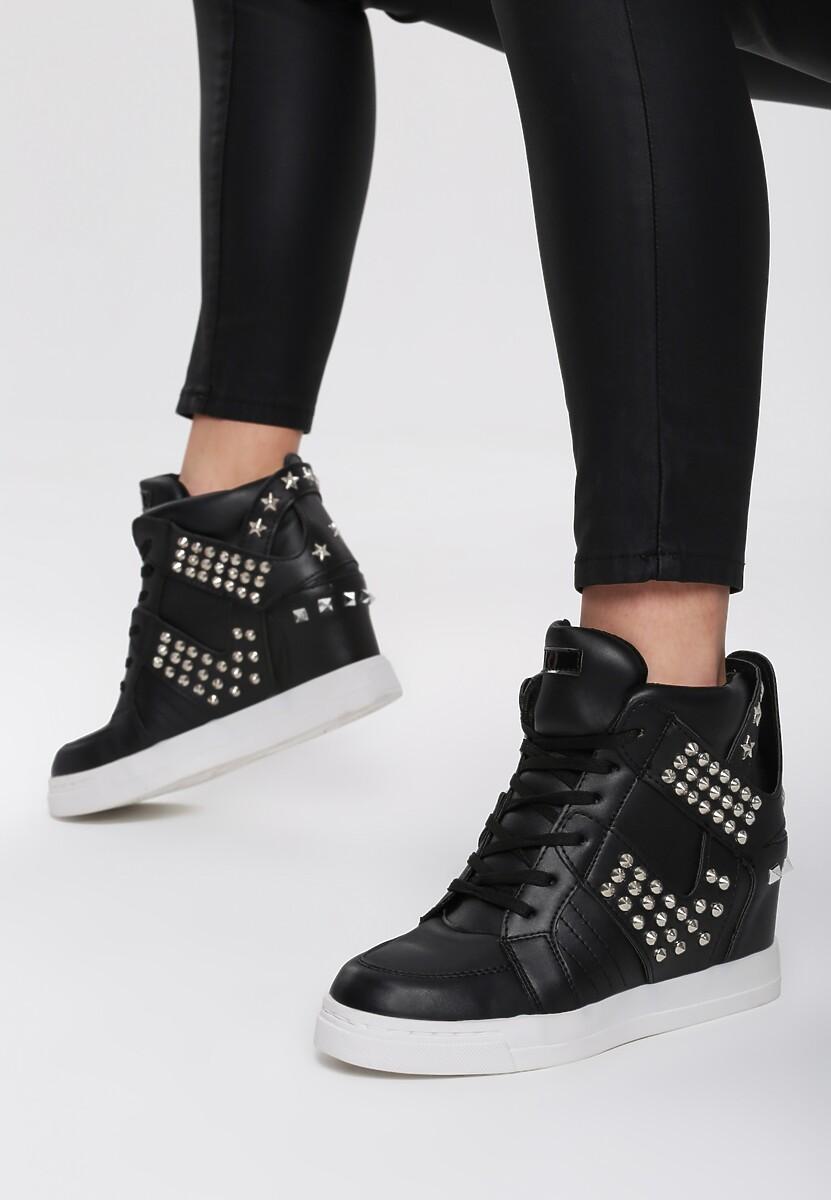 Czarne Sneakersy Danforth