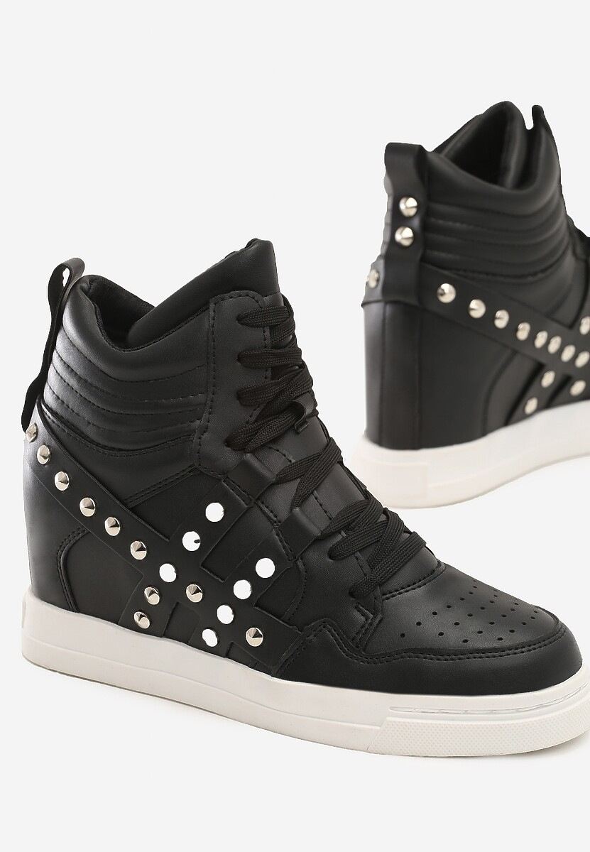 Czarne Sneakersy Brookhaven