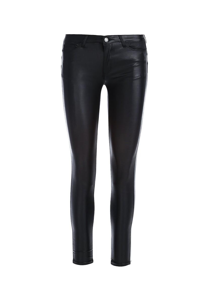 Czarne Spodnie Bender
