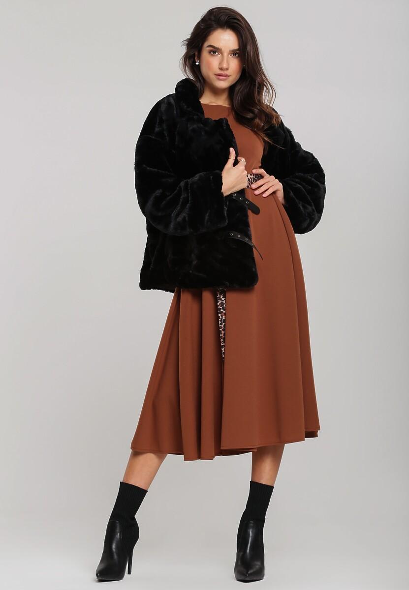 Camelowa Sukienka Pemberton