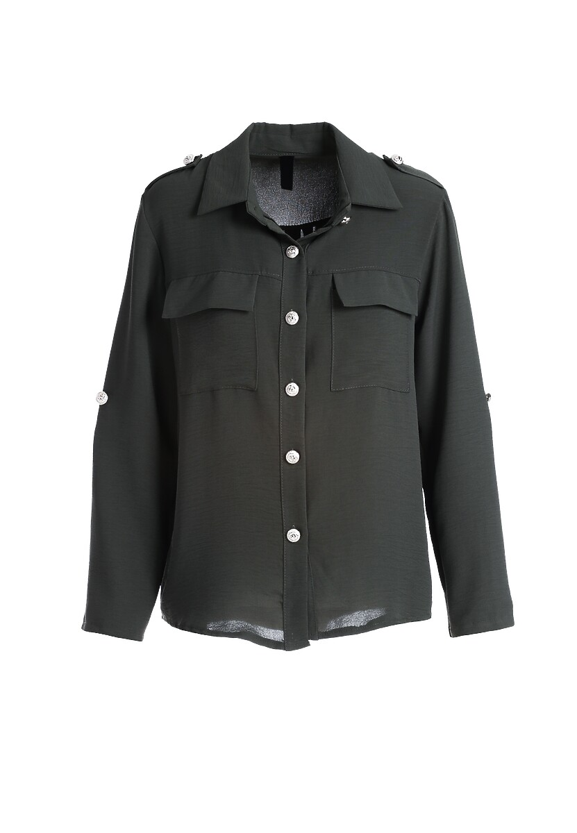 Ciemnozielona Koszula Crestwood