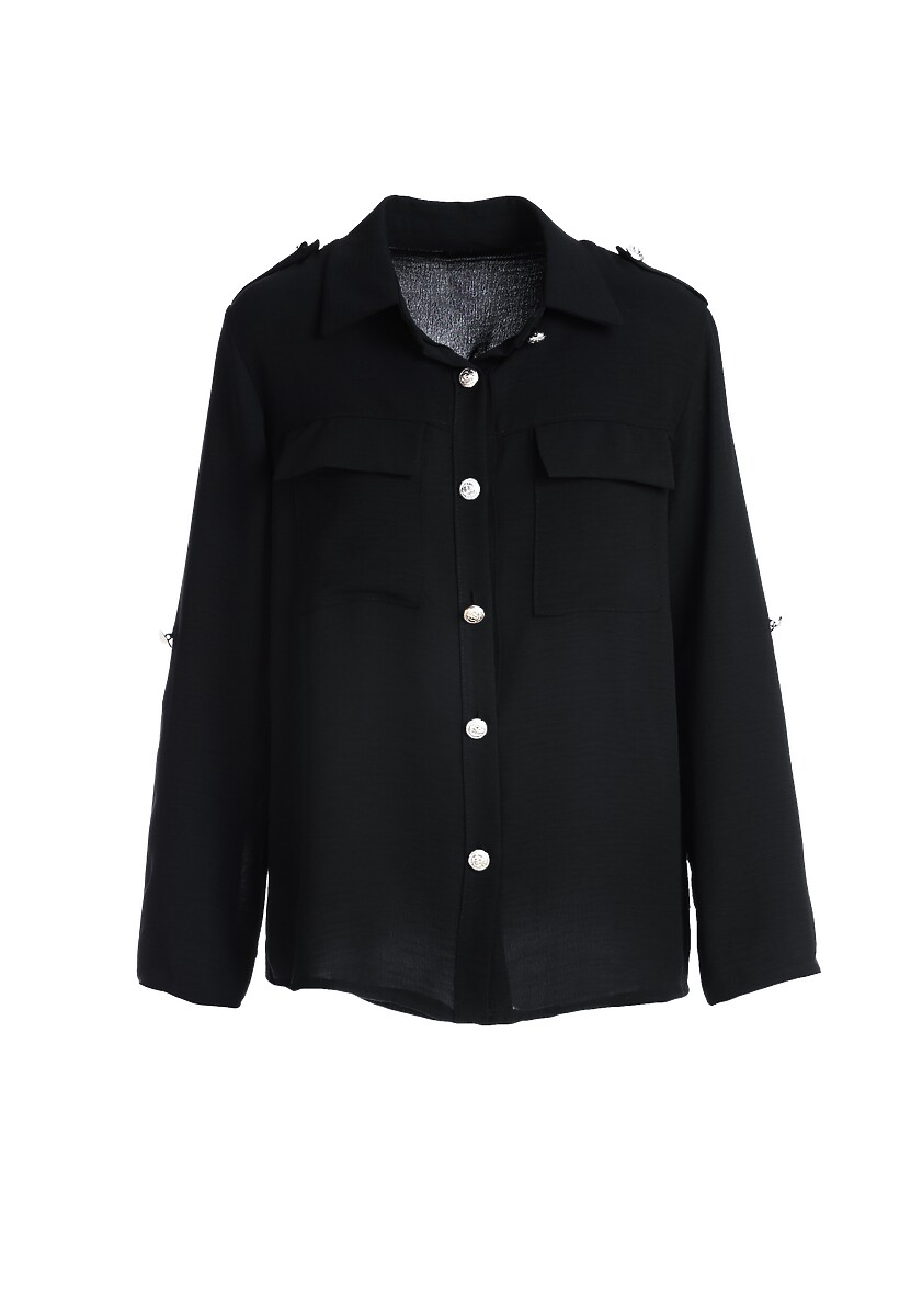 Czarna Koszula Crestwood