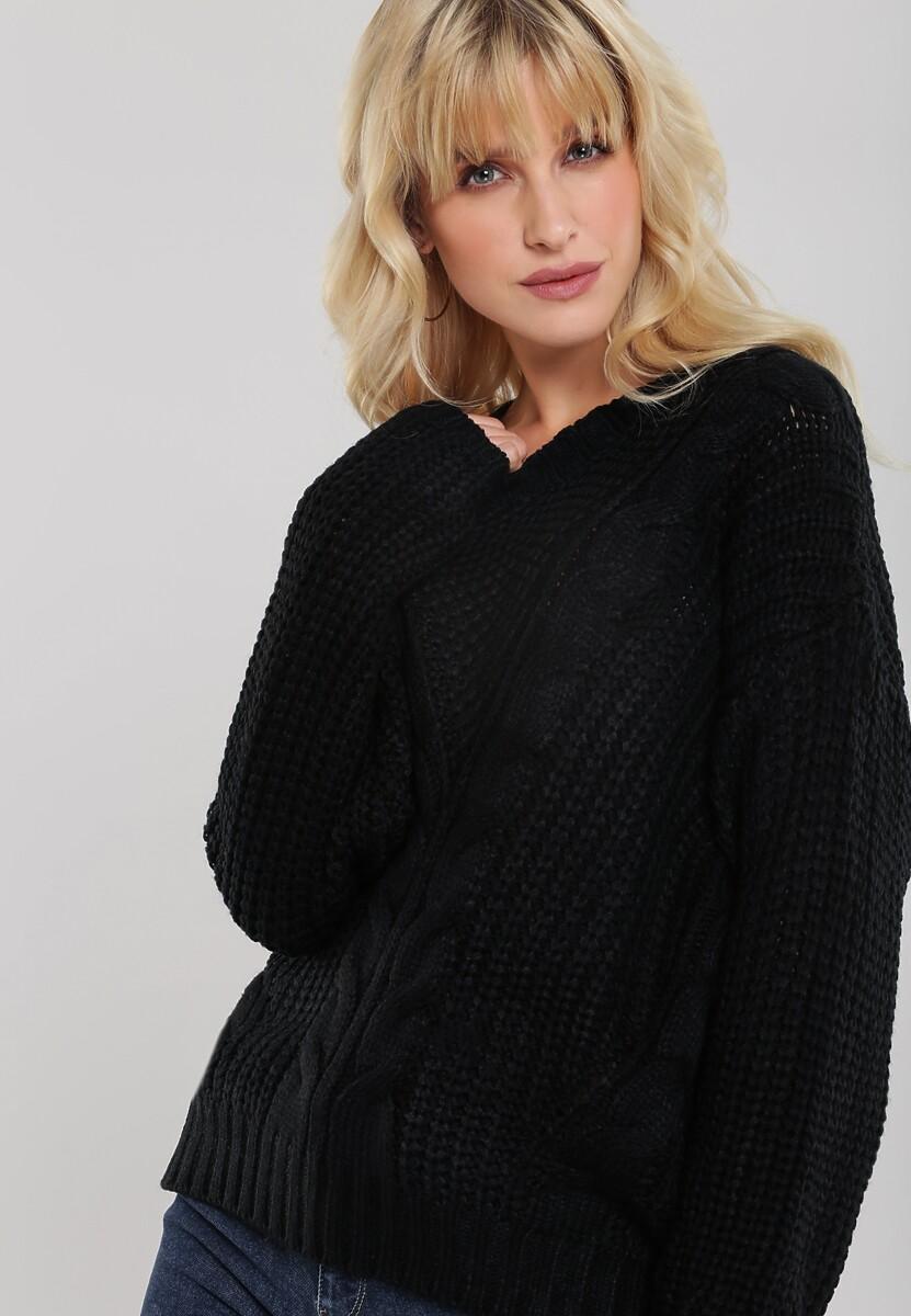 Czarny Sweter Bernia