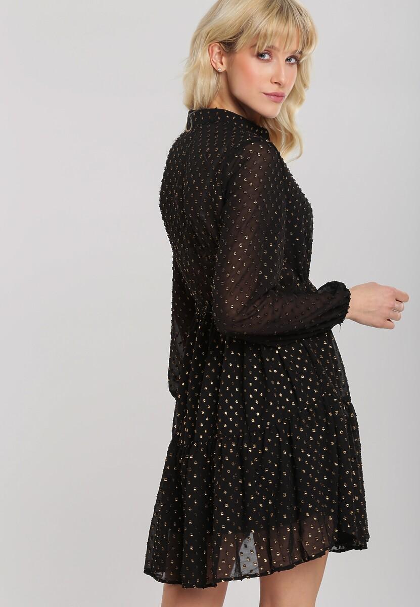 Czarna Sukienka Piquette
