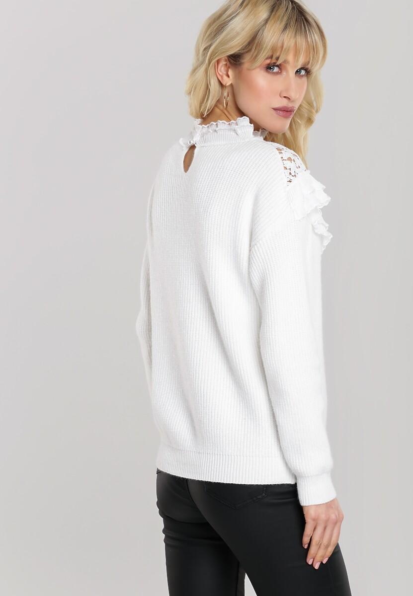 Biały Sweter Abrams