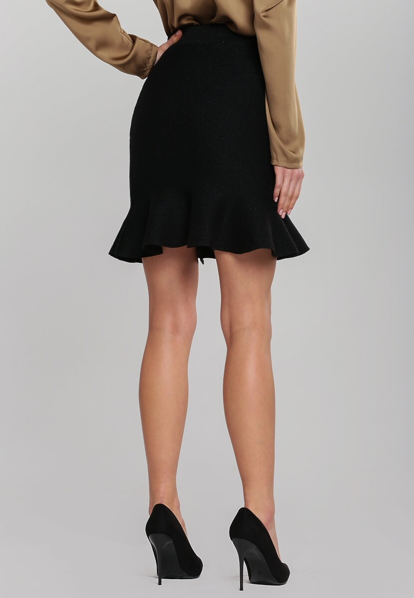 Czarna Spódnica Axminster