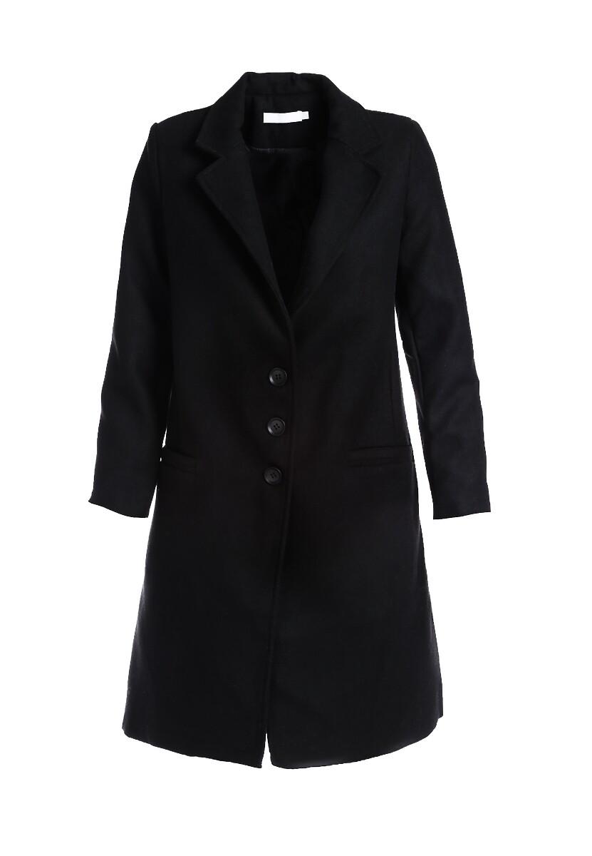 Czarny Płaszcz East Hampton
