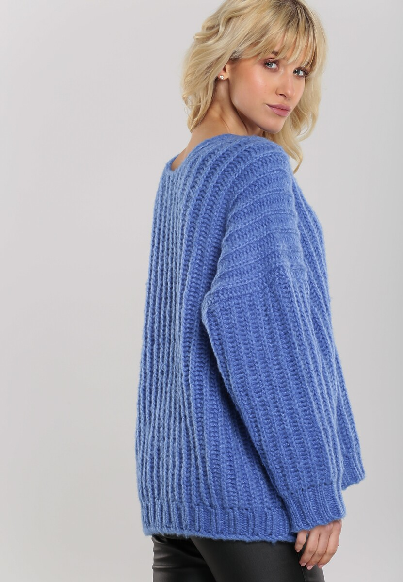 Niebieski Sweter Greenwich