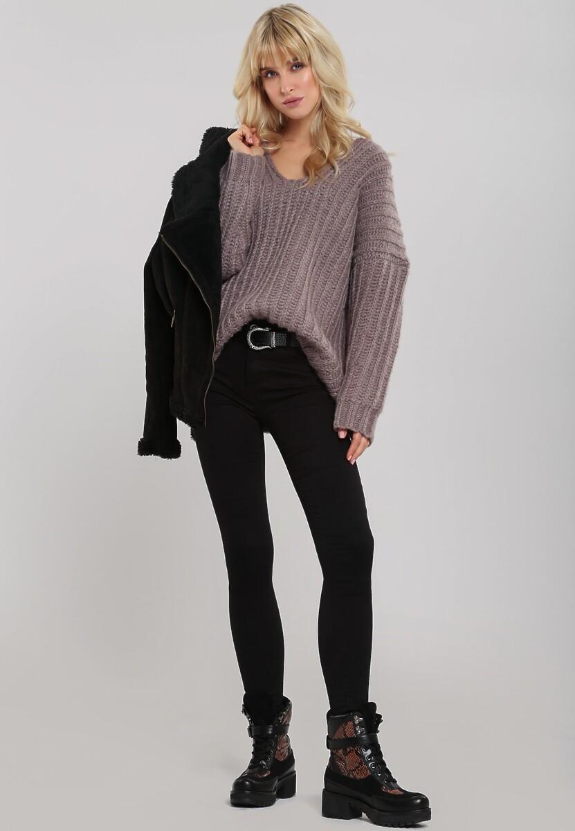 Brązowy Sweter Greenwich