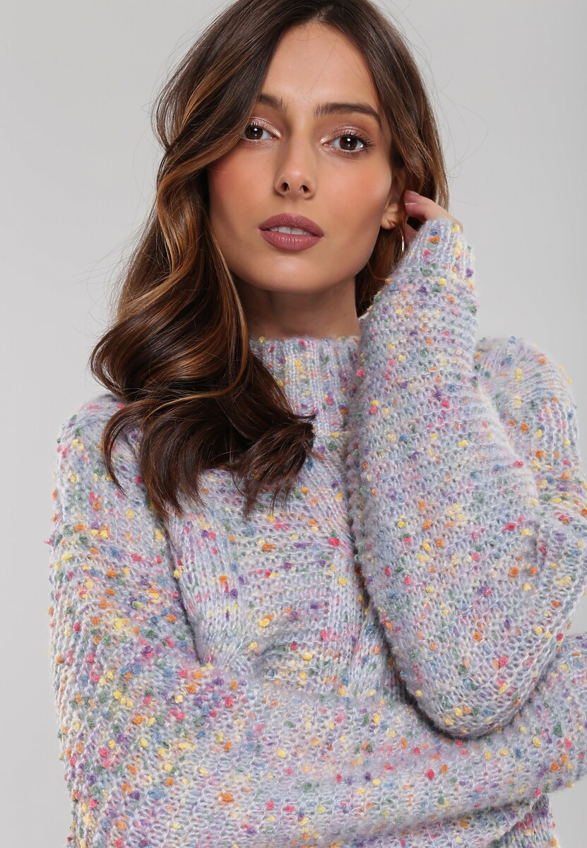 Niebieski Sweter Ballybrack