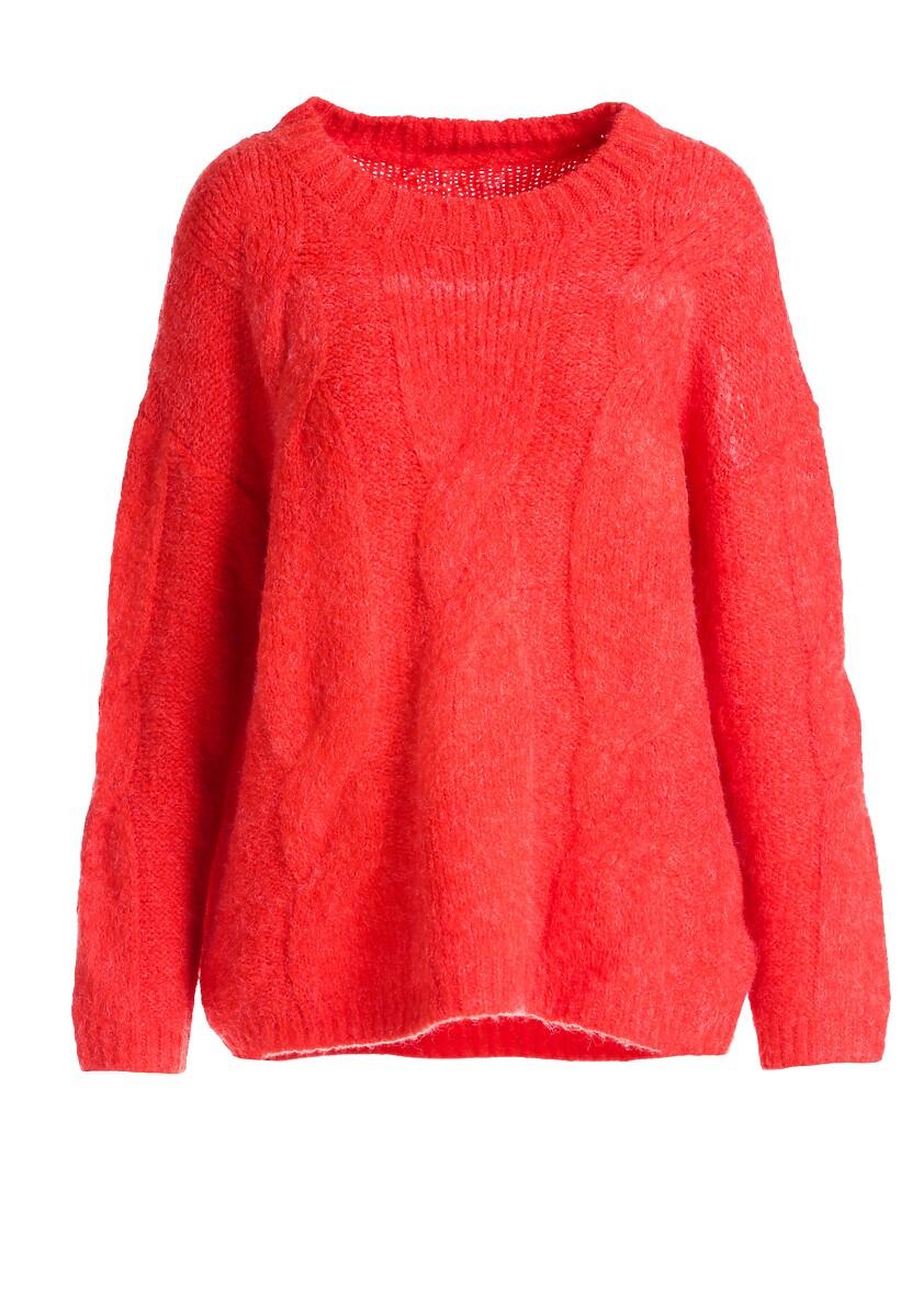 Czerwony Sweter Rosedale