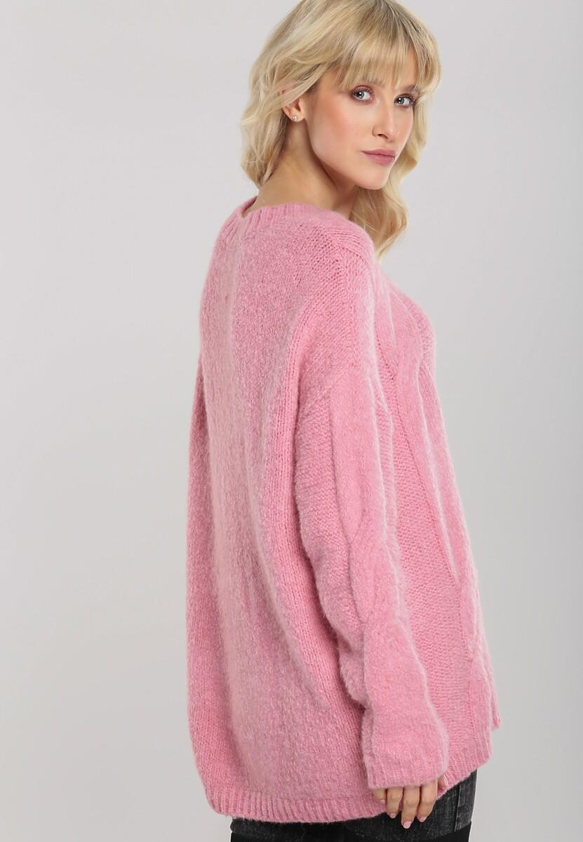 Różowy Sweter Rosedale