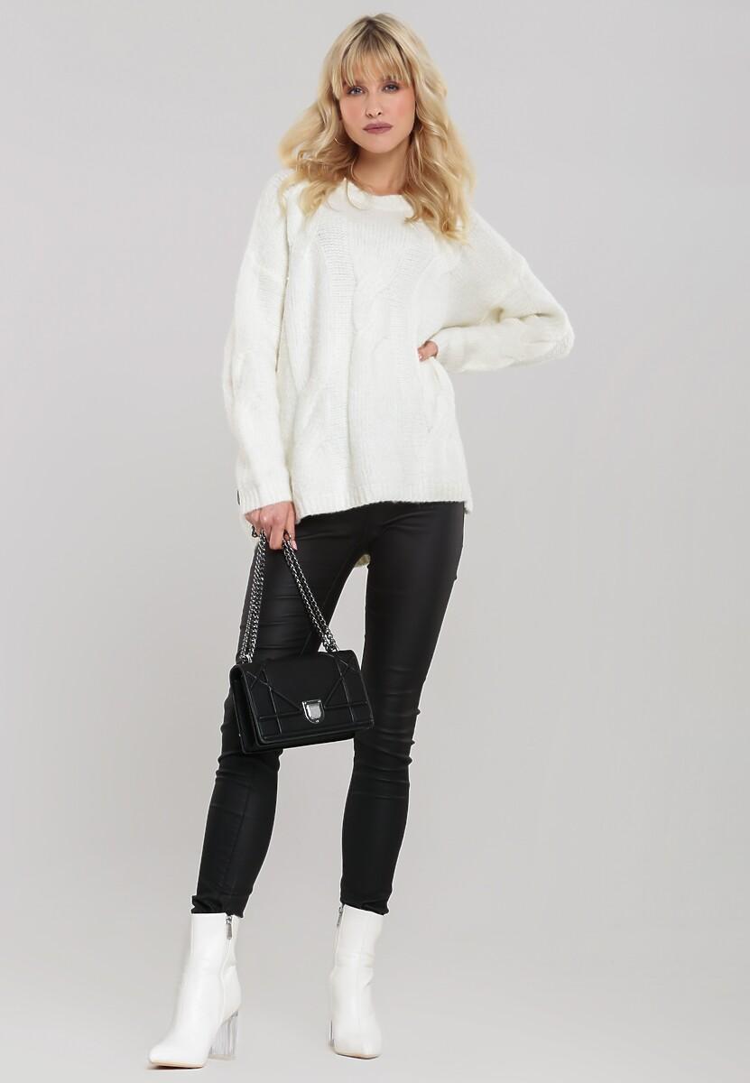 Biały Sweter Rosedale
