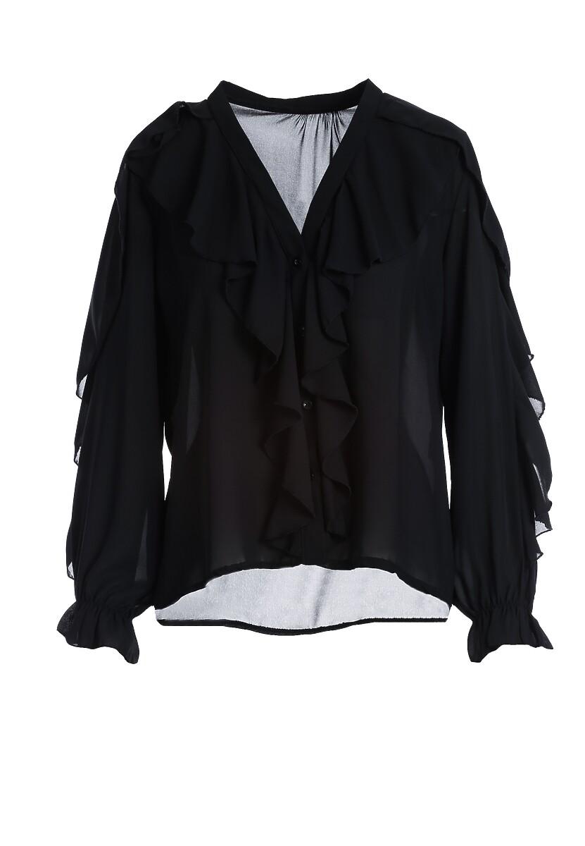 Czarna Koszula Lilburn