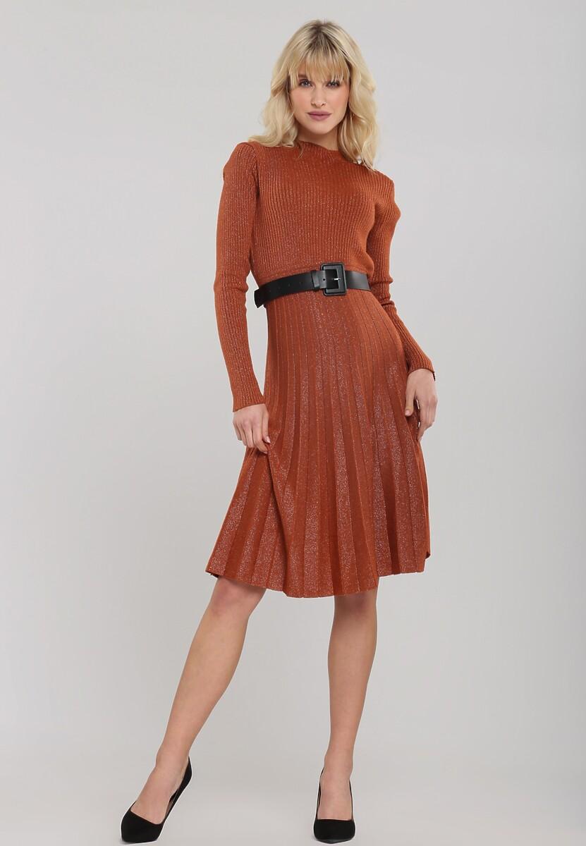 Camelowa Sukienka Bridlemile