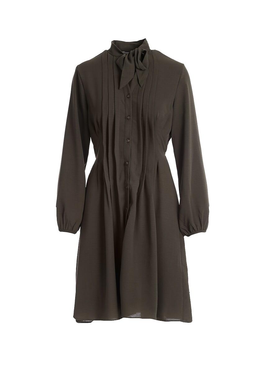 Oliwkowa Sukienka Wairoa