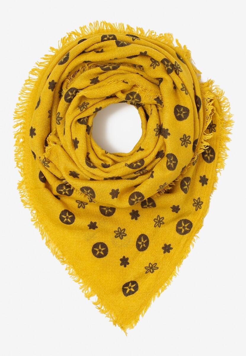 Żółty Szalik Perkins