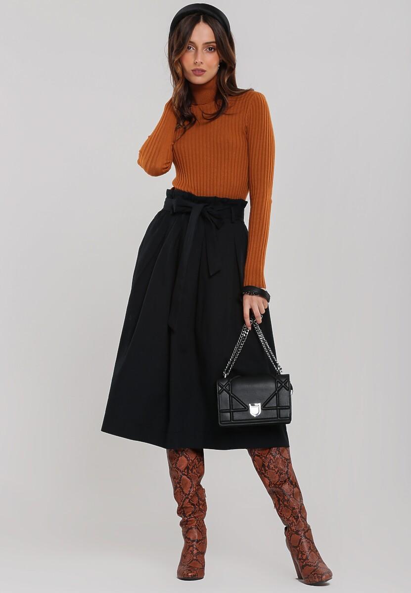 Czarna Spódnica Skinker