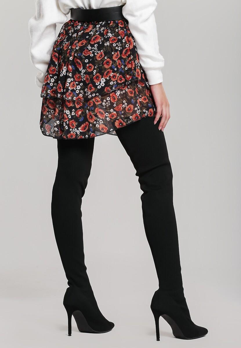 Czarna Spódnica Glenfair