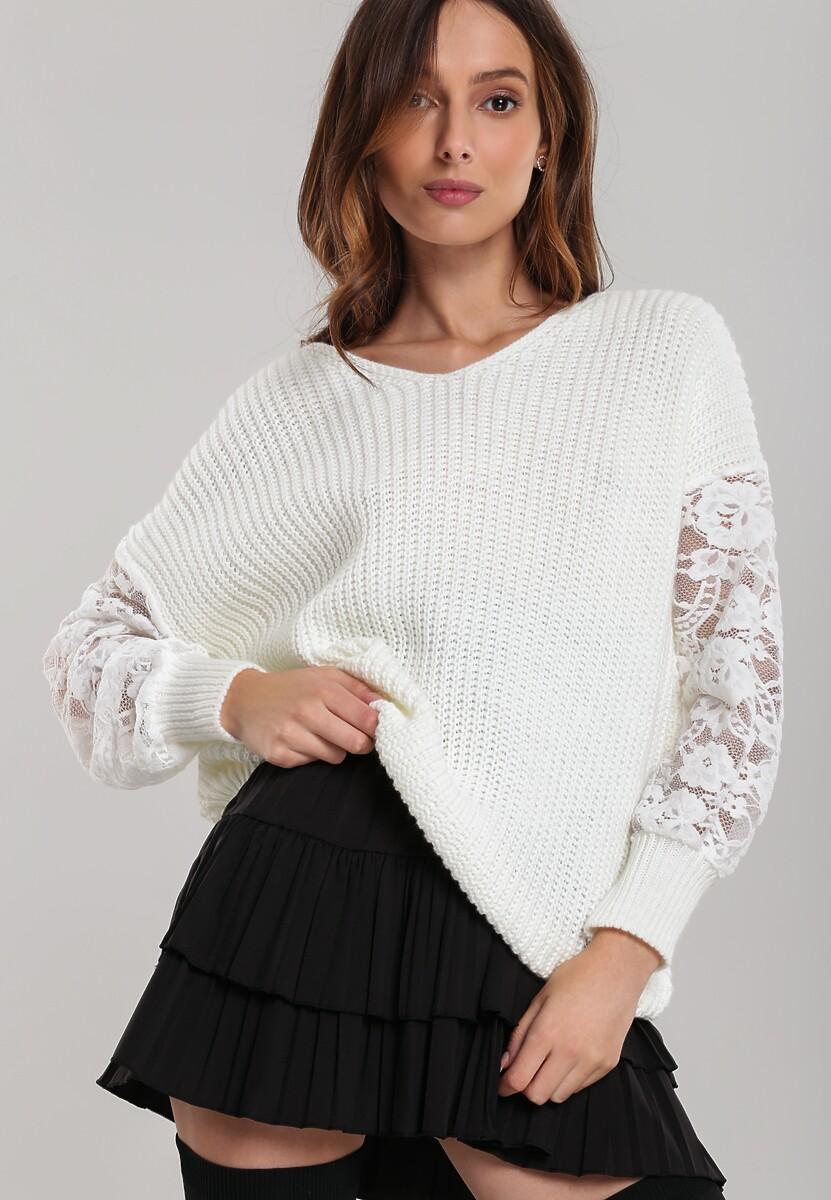 Biały Sweter Norcross