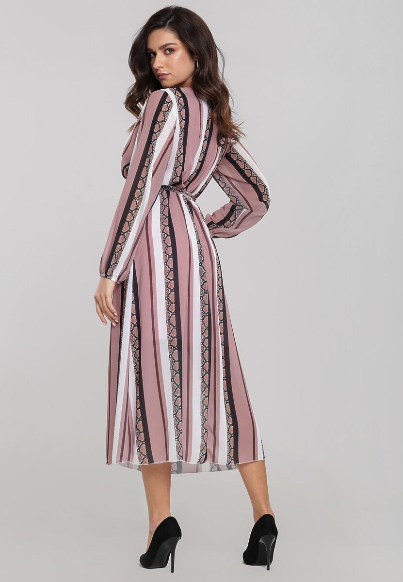 Różowa Sukienka Vinings