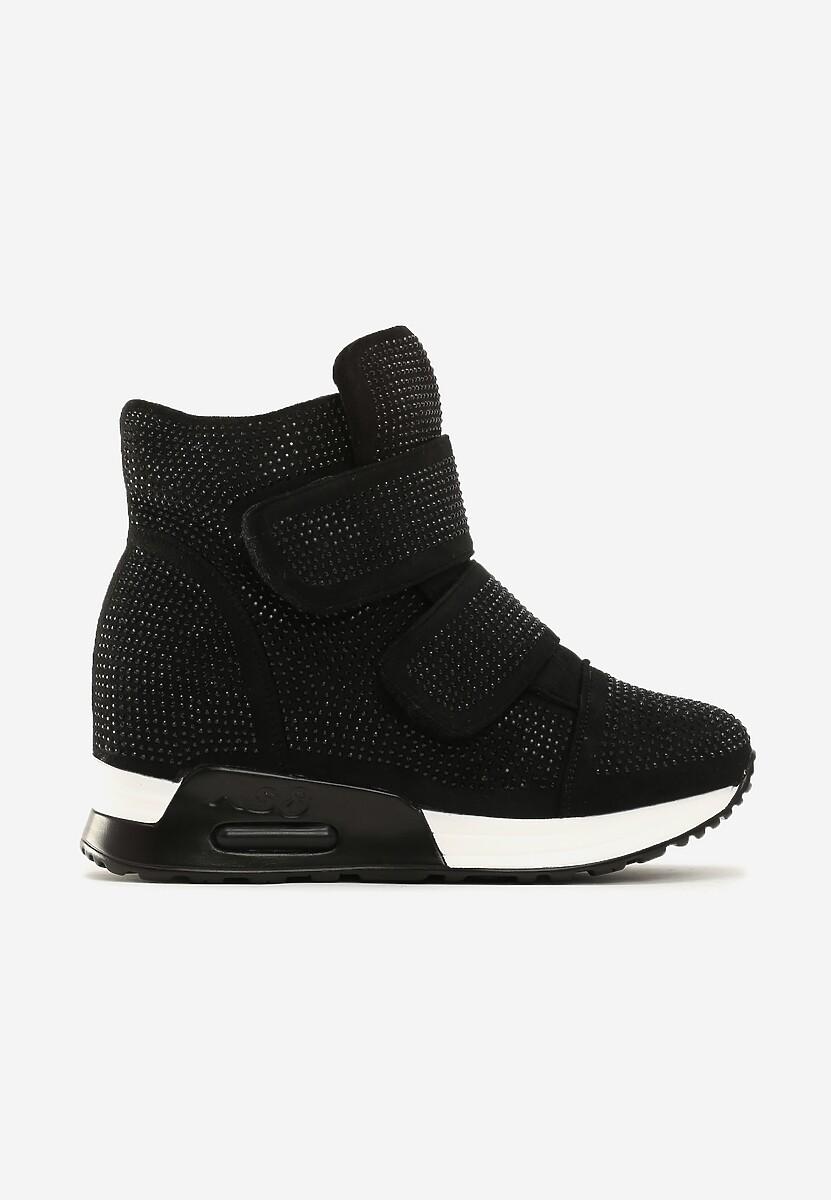Czarne Sneakersy Mann