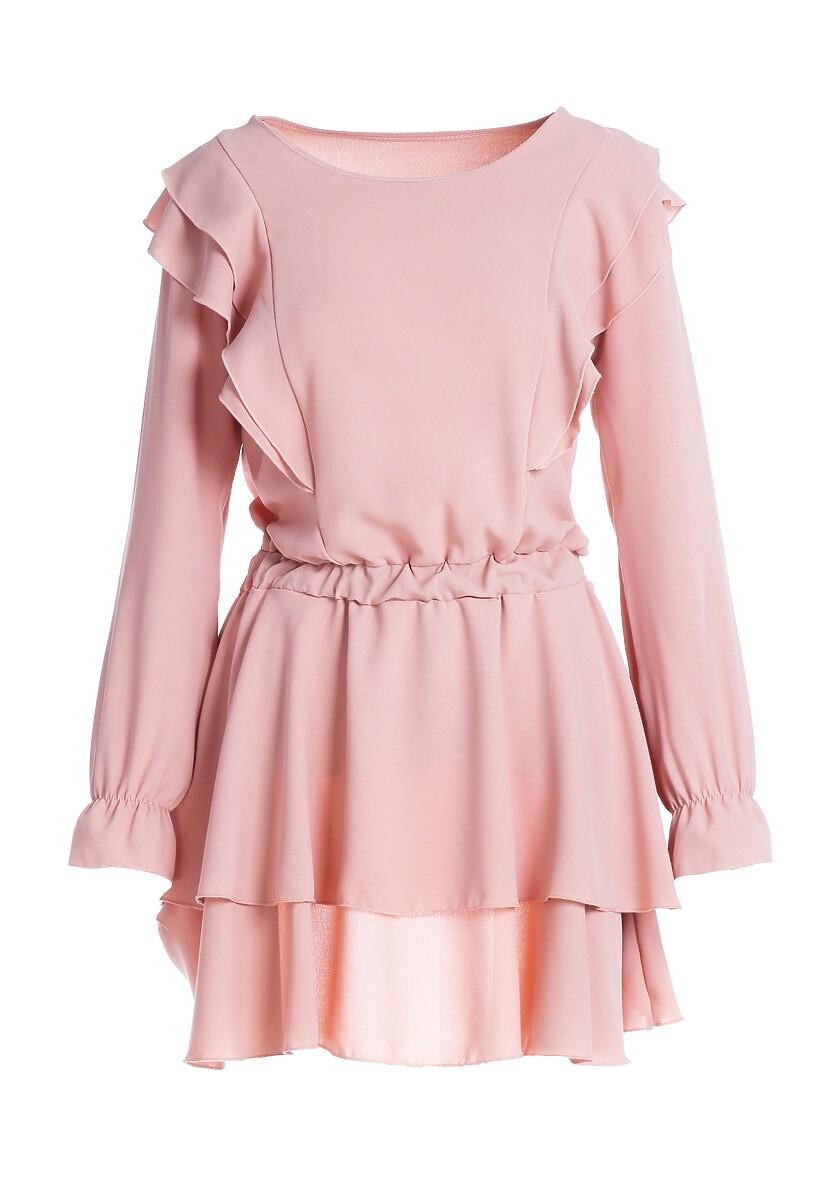 Różowa Sukienka Woolland