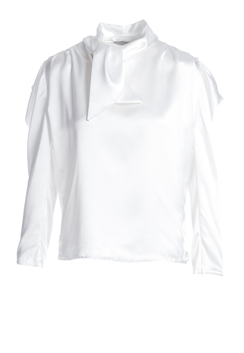 Biała Bluzka Tinted