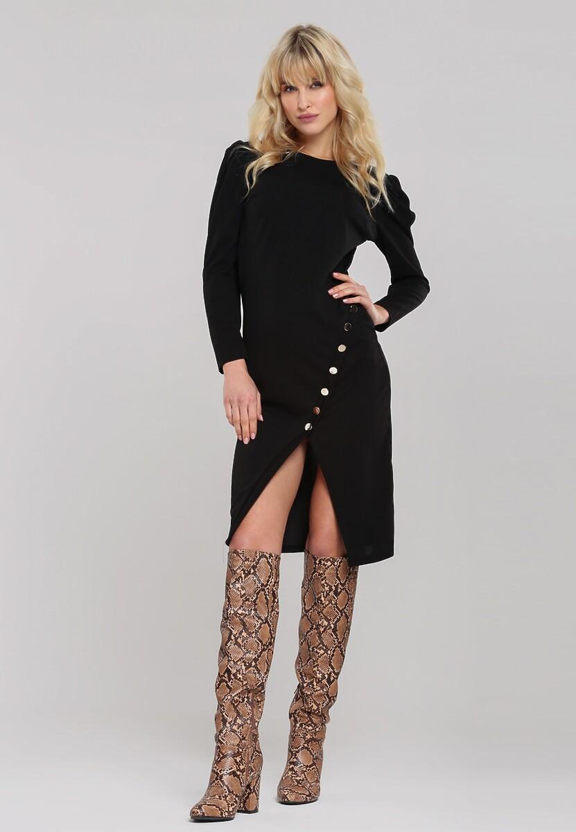 Czarna Sukienka Alpharetta