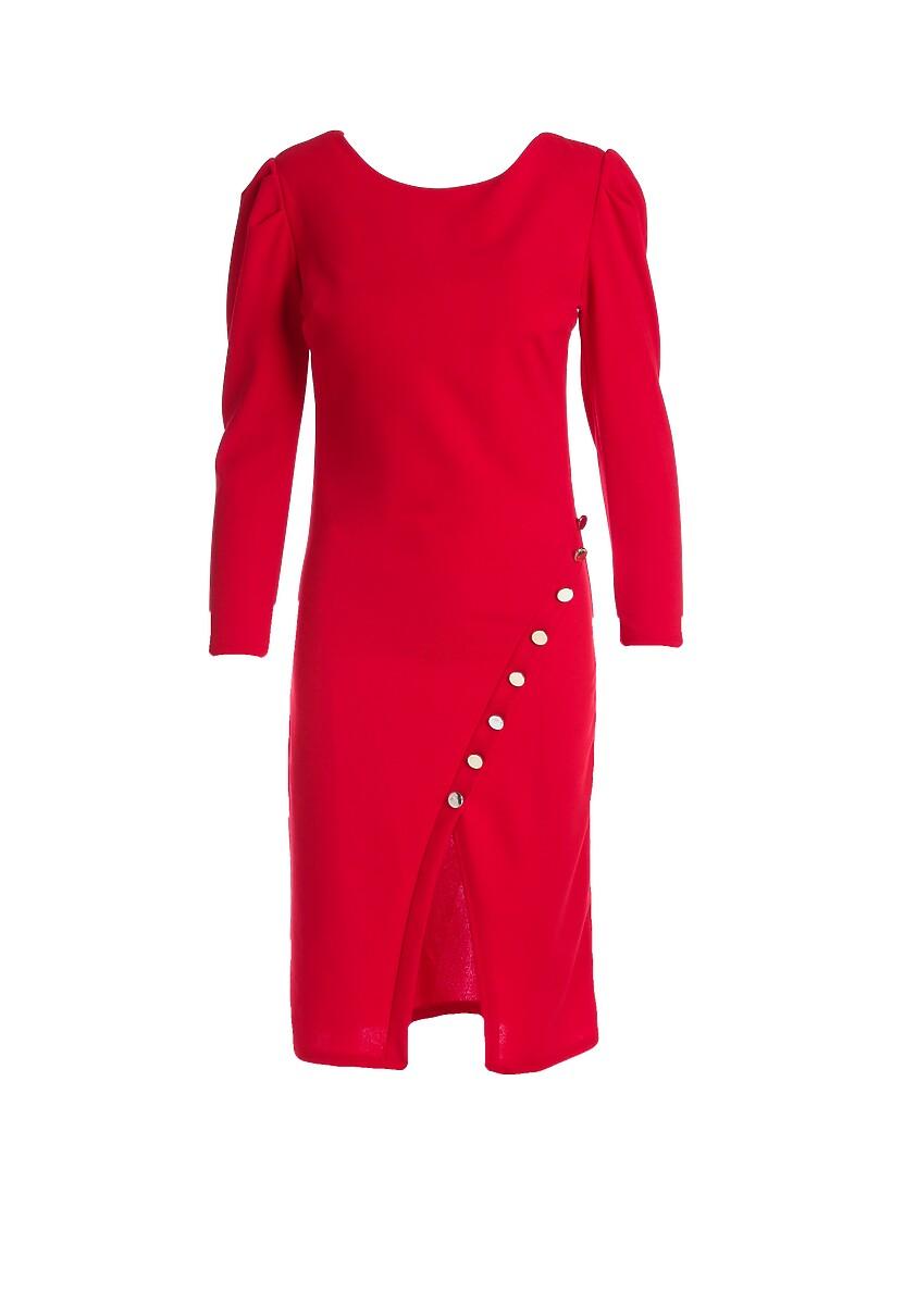 Czerwona Sukienka Alpharetta
