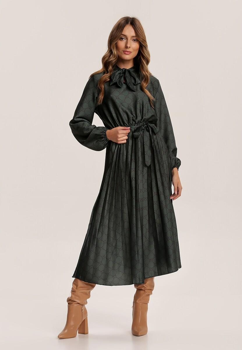 Ciemnozielona Sukienka Todber Kod produktu: 108979