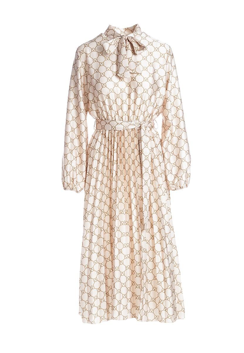 Kremowa Sukienka Todber