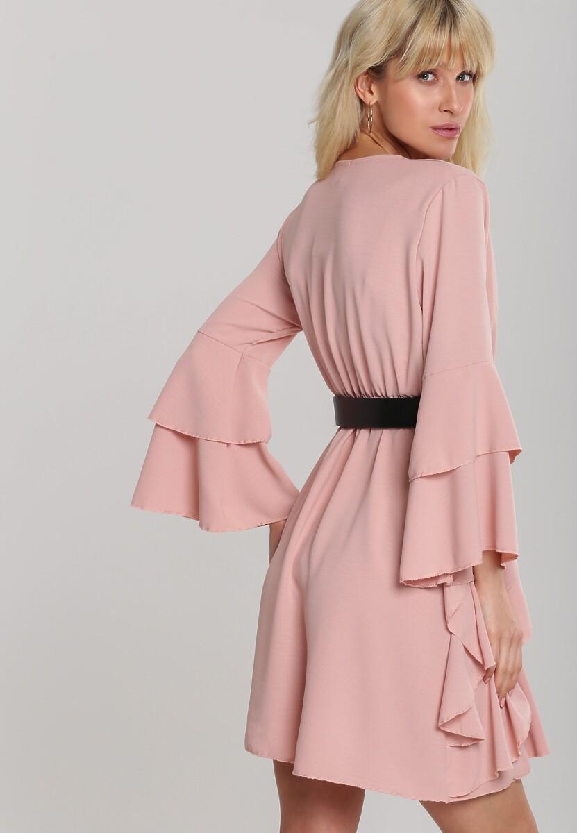Jasnoróżowa Sukienka Meadowbrook