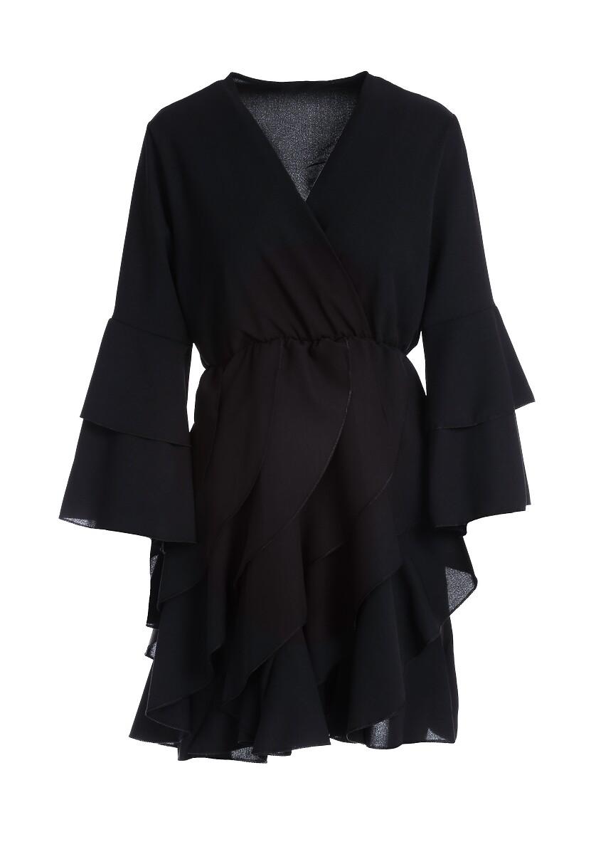 Czarna Sukienka Meadowbrook