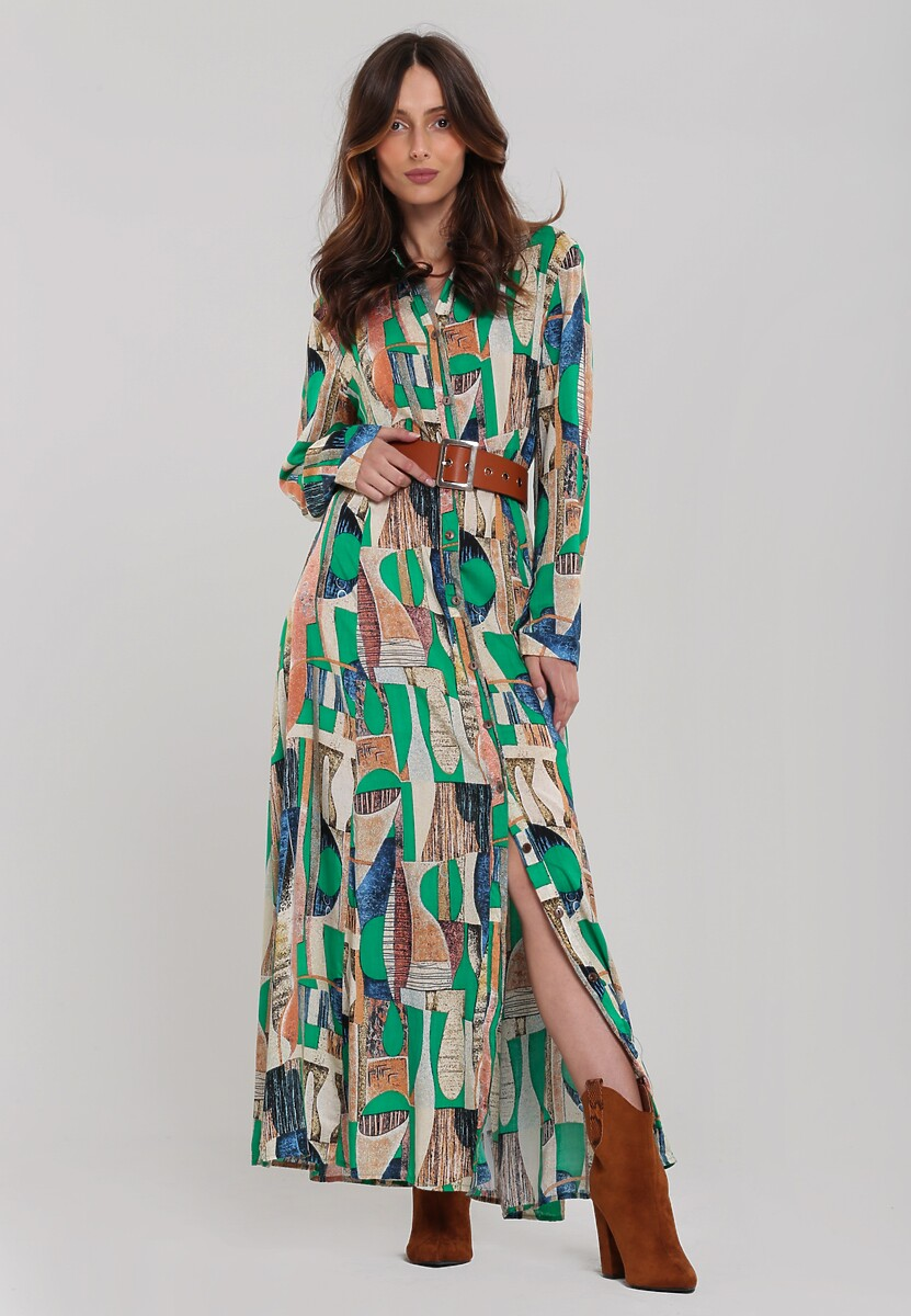 Zielona Sukienka Carlow