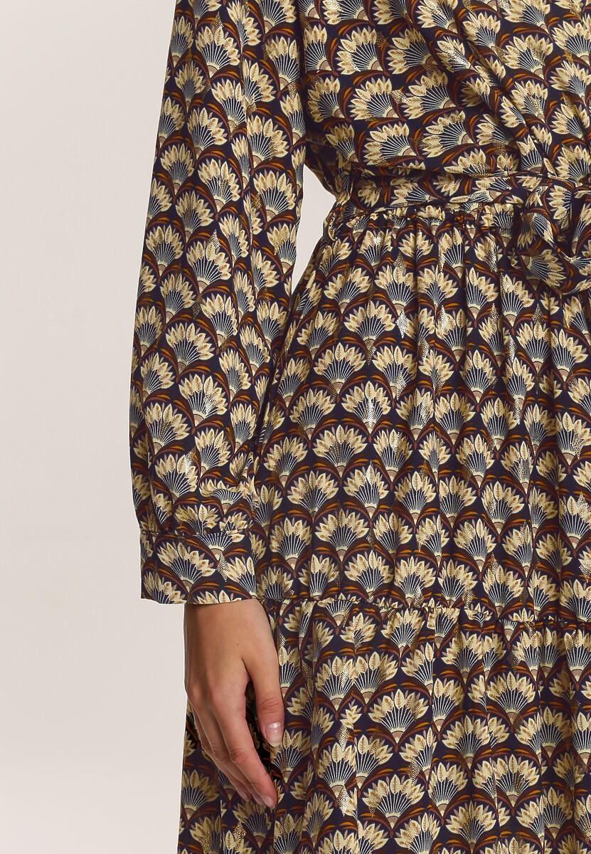 Granatowa Sukienka Gallaudet
