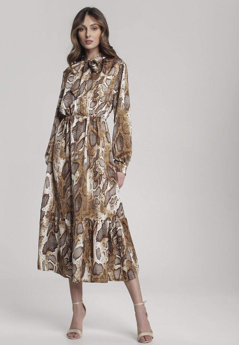 Beżowa Sukienka Eastgate