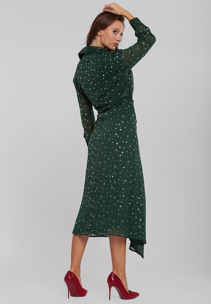 Ciemnozielona Sukienka Alphatech