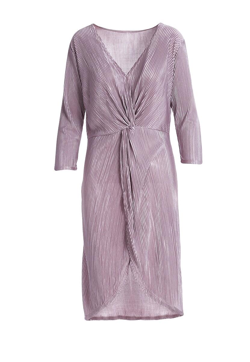 Różowa Sukienka Millau