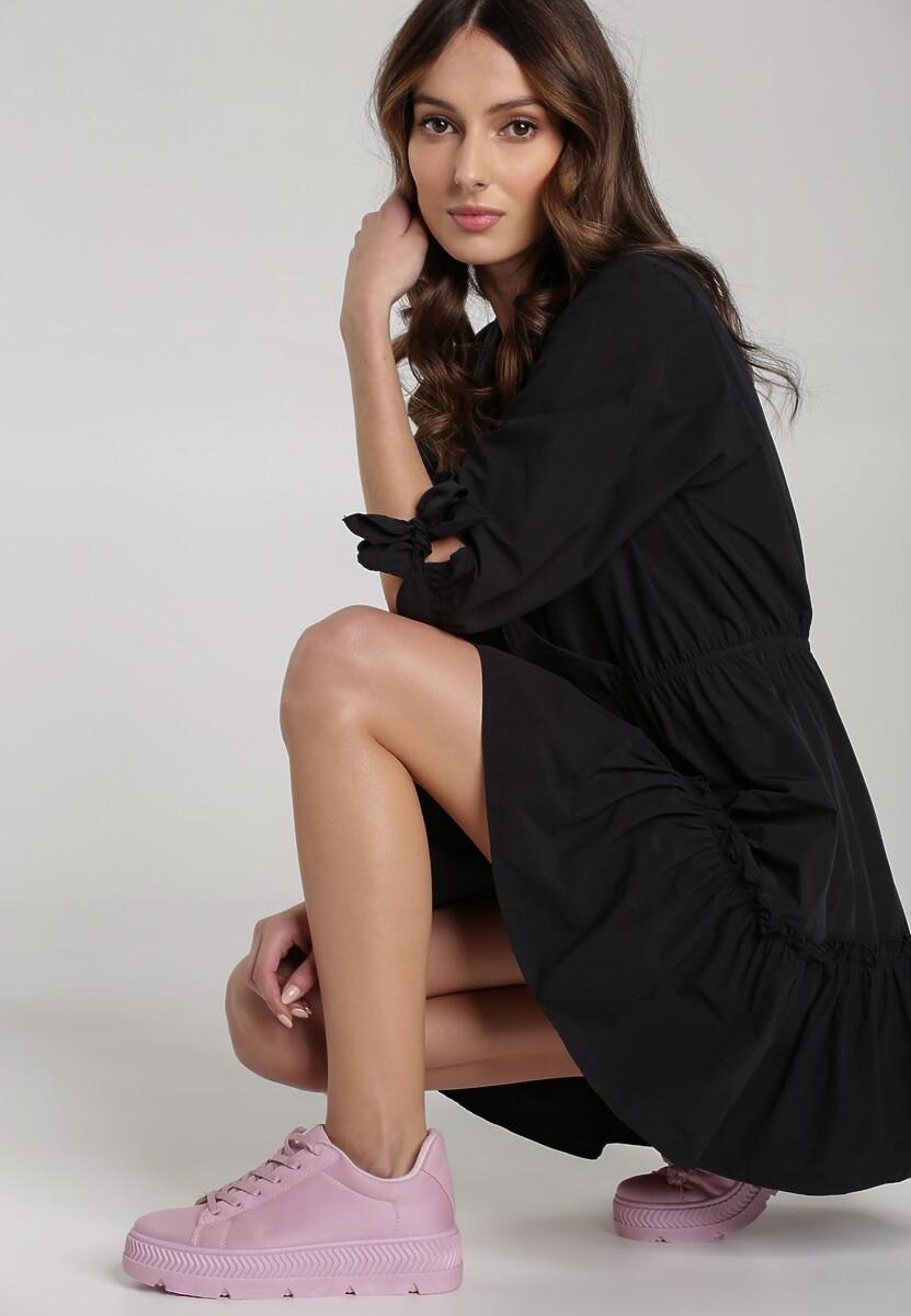 Czarna Sukienka Montgeron