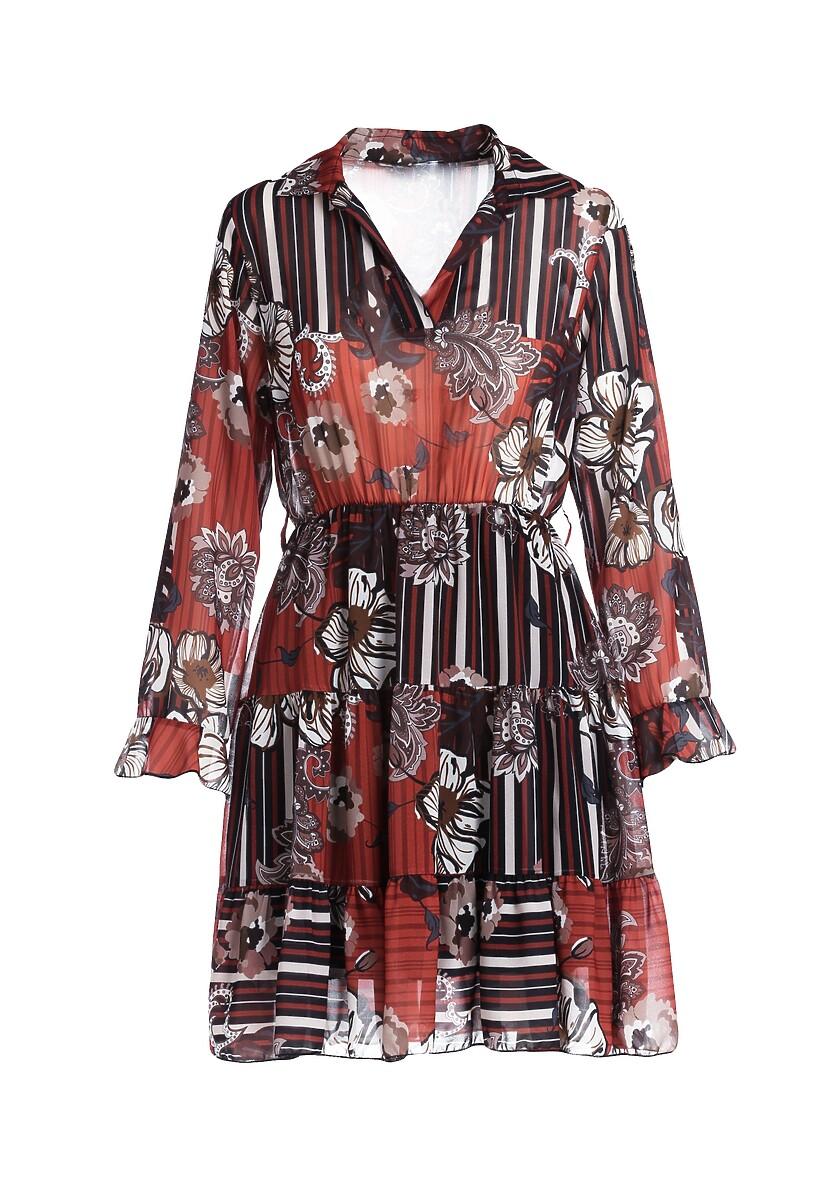 Camelowa Sukienka Traci