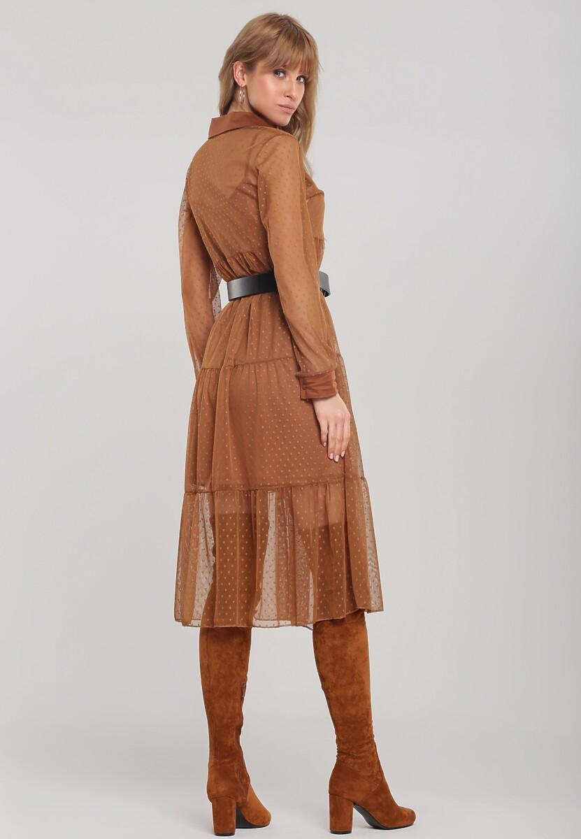 Camelowa Sukienka Superkik
