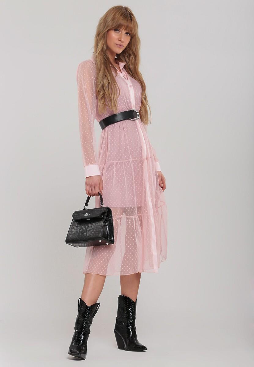 Różowa Sukienka Superkik