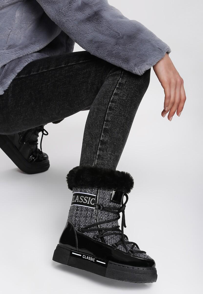 Czarno-Szare Śniegowce Tuttle Kod produktu: 109414
