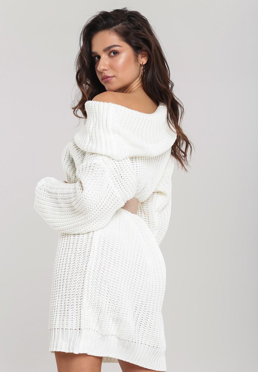 Biała Sukienka Touchkey