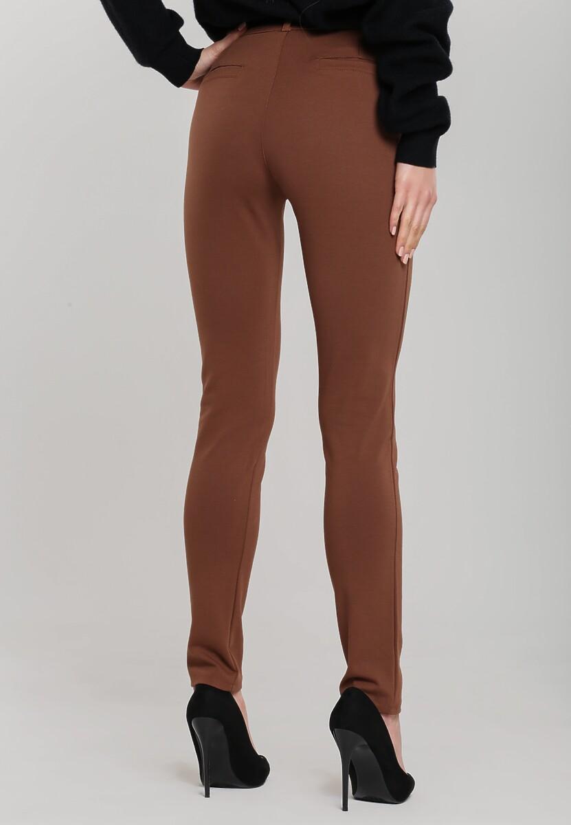 Brązowe Spodnie With My Way