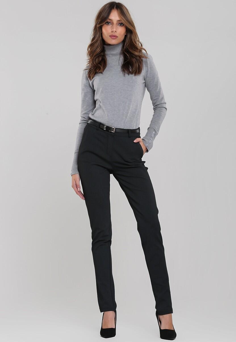 Czarne Spodnie Poole