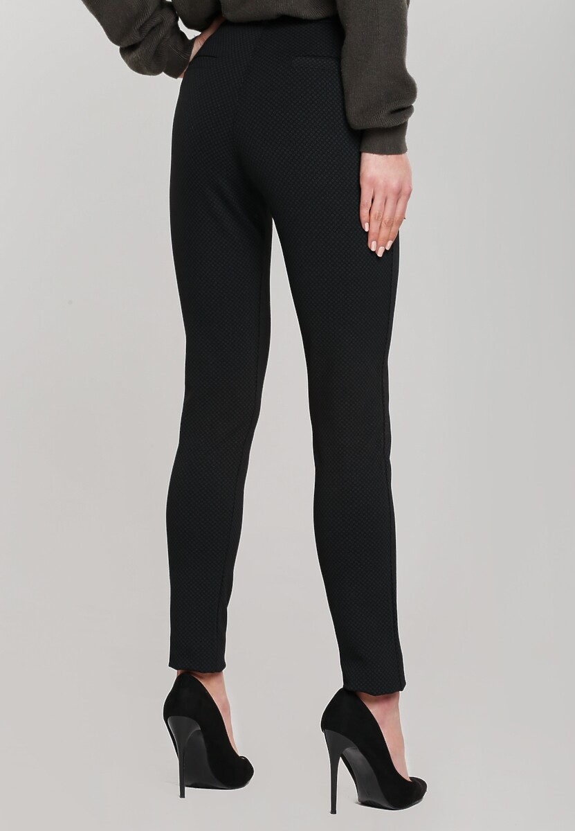 Czarne Spodnie Teleported