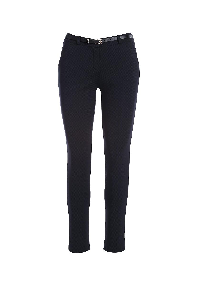 Granatowe Spodnie Teleported
